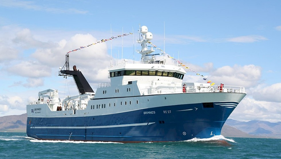 Brim Seafood's Brimnes RE 2 freezer trawler Photo: Brim Seafood
