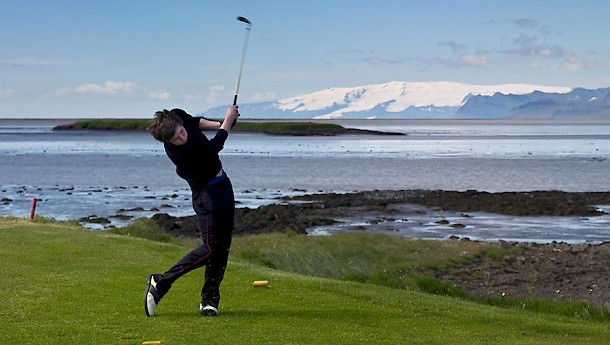 Foretaste for golf. Photo: Promote Iceland