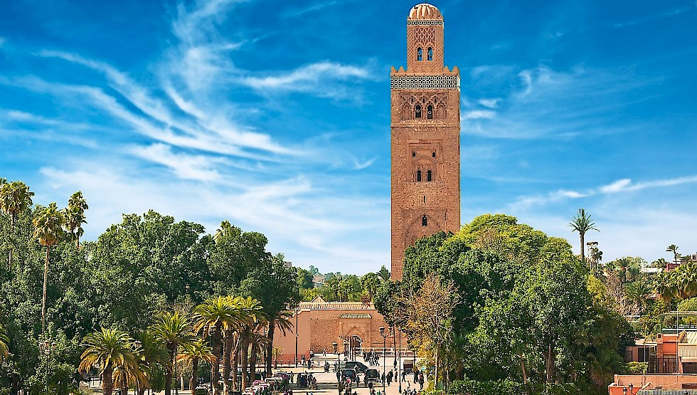 The main square of Marrakesh in old Medina, Morocco. Photo: Shutterstock.com