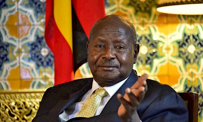 Interview with Yoweri Museveni, president of the Republic of Uganda
