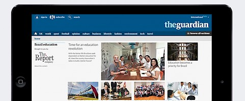 Special feature and microsite published in the Guardian – Education in Brazil