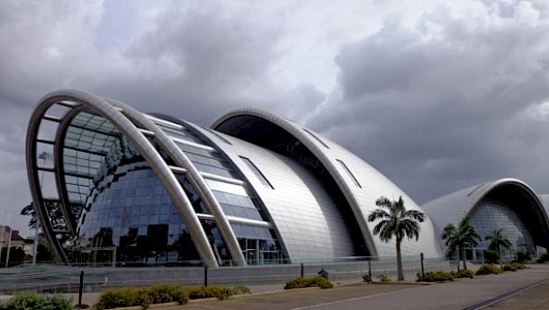As well as colonial buildings, Port of Spain boasts eye-catching modern architecture.
