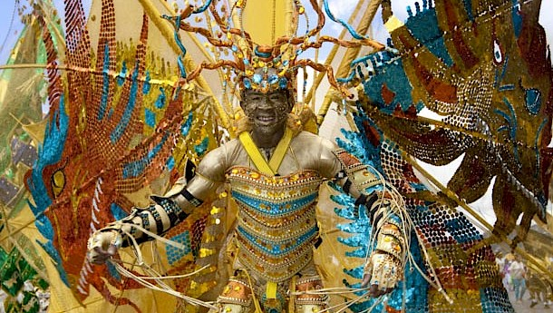 Carnival, which spawned the UK's Notting Hill Carnival, is a raucous cultural celebration.